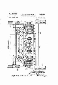 Patent Us3051265 - Fork Truck With Tri-lift Mast