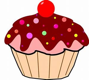 Chocolate Cupcake Clip Art at Clker.com - vector clip art ...