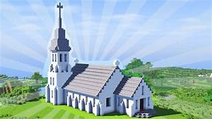 How To Build a Minecraft Church (CREATIVE BUILDING) - YouTube