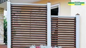 Balkon Sichtschutz Holz : alu sichtschutz h lben kaupp balkone sterreich ~ Watch28wear.com Haus und Dekorationen