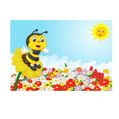 stickers muraux enfant g 233 ant abeille 15225 stickers