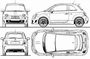 Blueprints  U0026gt  Cars  U0026gt  Fiat  U0026gt  Fiat 500 Abarth  2011