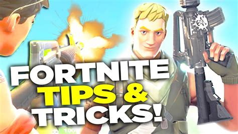 5 tips and tricks for new players fortnite battle royale