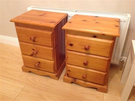 bedside lockers matching pine bedside lockers pair for sale in lusk dublin from karlbreen