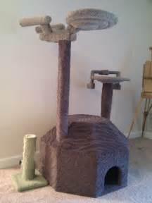 trek cat tree for trekkies with cats