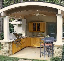 kitchen outdoor ideas the best covered outdoor kitchen ideas and designs