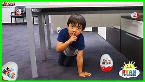Ryan plays Hide and Seek in the new office + NEW CHANNEL ...