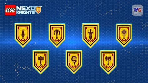 Strongest Nexo Knights Shields Scan
