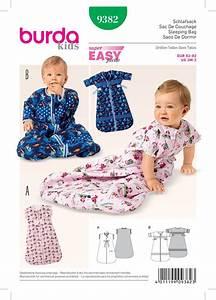 Burda 9382 Babies 39 Sleeping Bag Baby Sleeping Bag