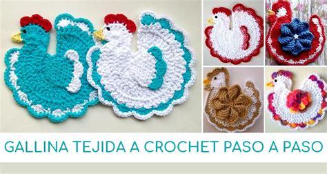 patron de gallina tejida a crochet gallina tejida a crochet paso a paso manualidades y
