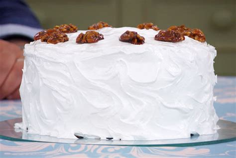marys frosted walnut layer cake technical challenge
