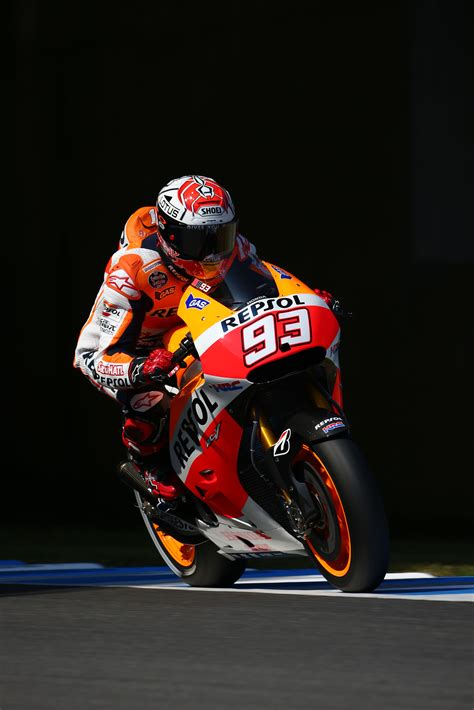 front row start  pedrosa    marquez