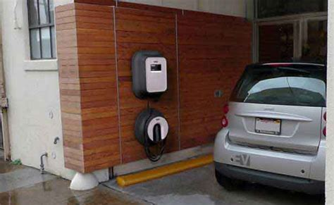 Electric Car Charging Station Installation In Orange