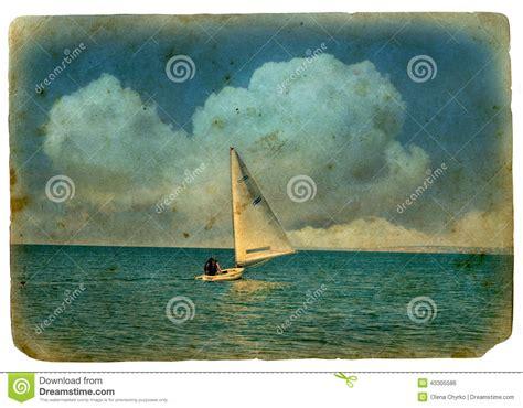 Sailboat At Sea by Sailboat At Sea Stock Photo Image 43305586