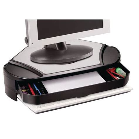 rehausseur ordinateur bureau support écran d 39 angle desq manutan fr