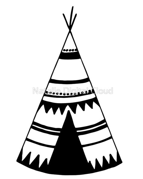 """Teepee art, teepee tent"" Stickers by nth4ka   Redbubble"