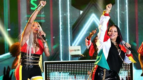salt  pepa celebrate  years  achievement  bbmas
