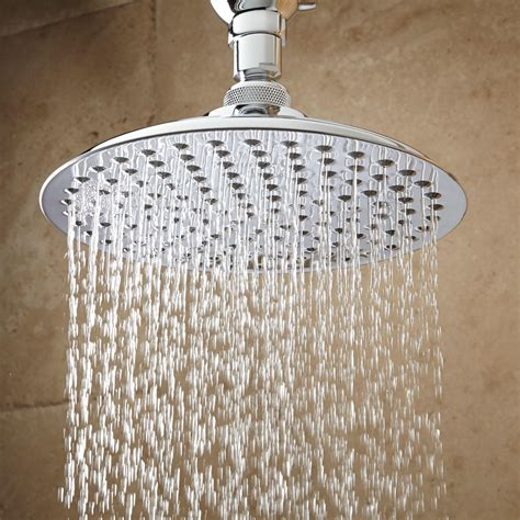 Shower Heads by Bostonian Rainfall Shower With S Type Arm Bathroom