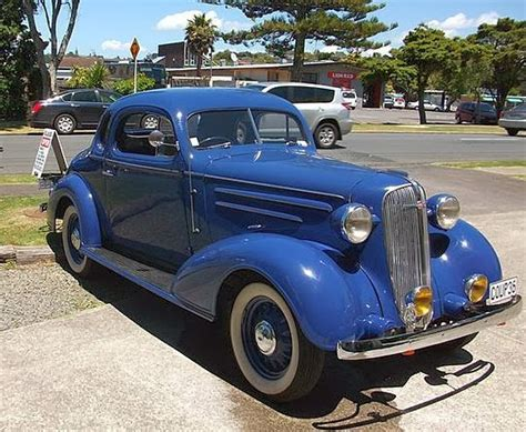 Transpress Nz 1936 Chevrolet Coupe