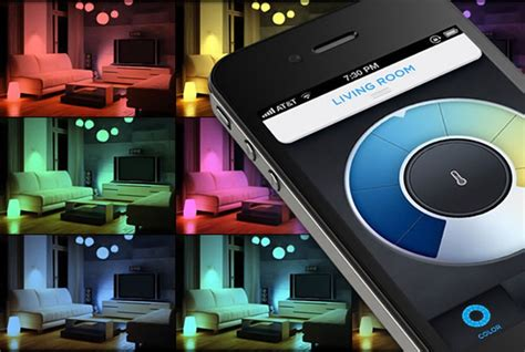 Led Lights For Room Controlled By Phone by Lifx Smartphone Controlled Led Lightbulb There S An App