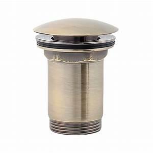 Pop Up Ventil Waschbecken : ablaufgarnitur in bronze antik f r waschtisch ~ Watch28wear.com Haus und Dekorationen