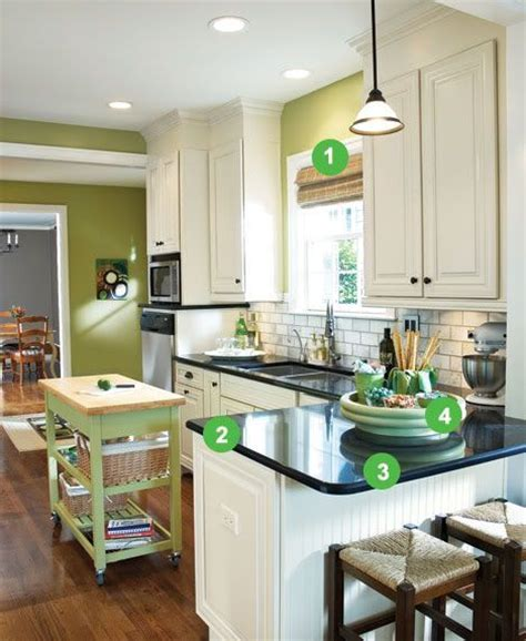 17 Best images about Kitchen   Peninsula and narrow