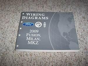 2009 Mercury Milan Electrical Wiring Diagram Manual I4