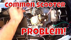 Chinese Scooter Maintenance Upgrade Fuel Line Gy6 Qmb139 Reliable Chese Scooter 49cc 50cc