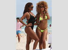 صور كلوديا جوردن بالبيكيني في شاطئ ميامي 2014 ، أجمل صور