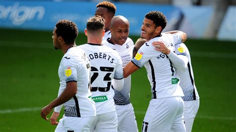 Ayew scores and assists as Swansea beat Wycombe ...