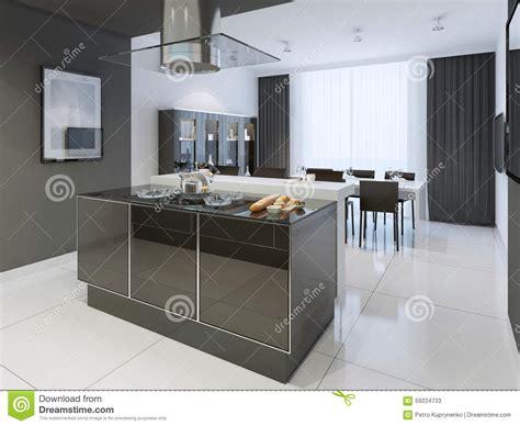 style de cuisine moderne style moderne de cuisine et blanche image stock image 59224733