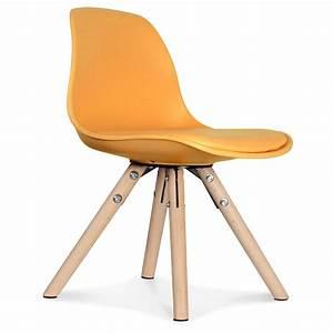 Chaise Scandinave Jaune Moutarde : chaise scandinave enfant jaune honey little marmaille ~ Teatrodelosmanantiales.com Idées de Décoration