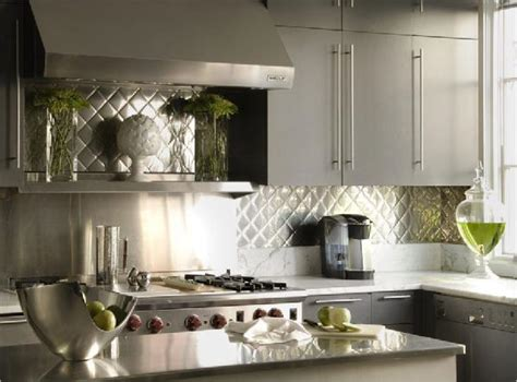Quilted Backsplash :  Alternatives To Subway Tile