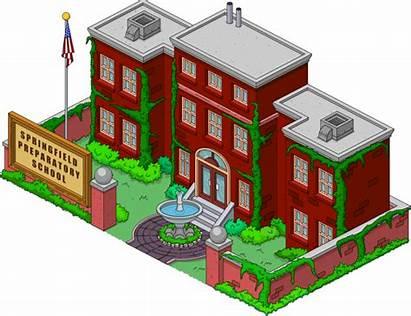 Simpsons Springfield Tapped Preparatory Fandom Wikia Wiki