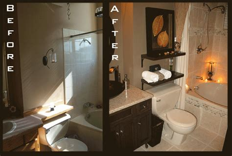 Before And After Small Bathrooms by Bathroom Remodels Pictures Of Before And After Home