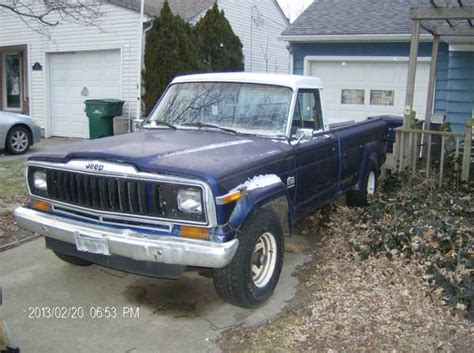 1985 Amc Jeep J10 On Listly