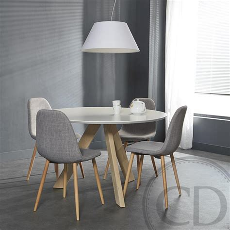 chaise grise tissu chaise cuisine design grise palzon com