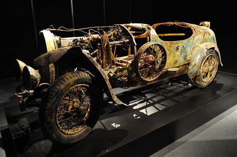 Recovered 1925 Bugatti Type 22 Brescia Photo Gallery