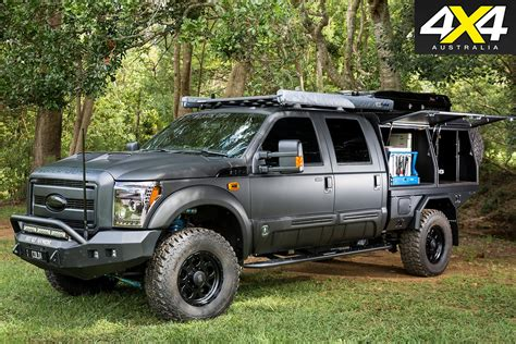 Ford F250 4x4 by Custom Ford F250 Black Ops