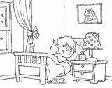 Quarto Colorir Colorear Dibujo Pintar Desenho Dibujos Colorare Chambre Cuarto Disegno Stanza Dormitorio Habitacion Imagens Imagen Dibujar Coloring Desenhos Letto sketch template