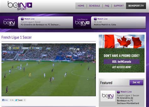siege de bein sport regarder les matchs de grâce à bein sport canada