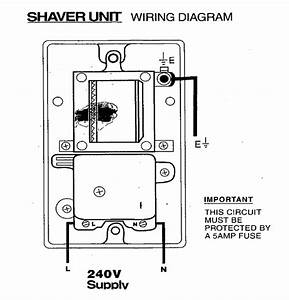 Fitting An Electrical Shaver Point