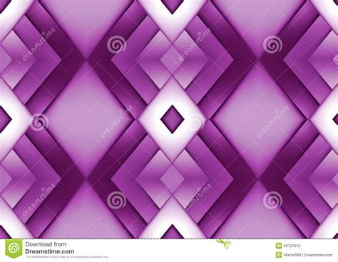 Abstract Purple Geometric Background Stock Photo