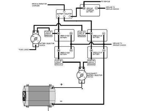 wiring diagram for trailer battery rv battery cutoff switch modmyrv