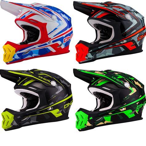 camo motocross oneal 7 series camo motocross helmet helmets