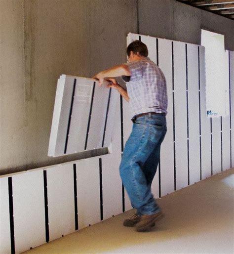 cheap wall insulation 25 best ideas about concrete basement walls on 2122