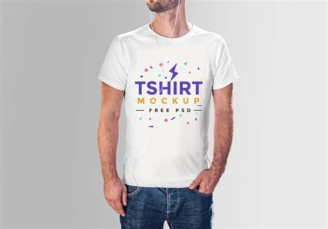 T Shirt Mockup Free Tshirt Mockup Psd Graphicsfuel