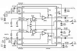 amplifiercircuitscom preamplifier With upc1032h circuit