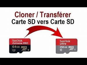Cloner Carte Sd : comment cloner une carte sd vers une autre carte sd youtube ~ Medecine-chirurgie-esthetiques.com Avis de Voitures