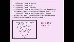 Venn Diagrams And Sets 04
